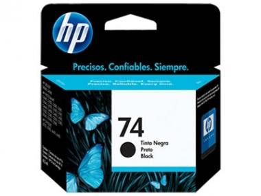 CARTUCHOS HP 74 NEGRO X UNIDAD