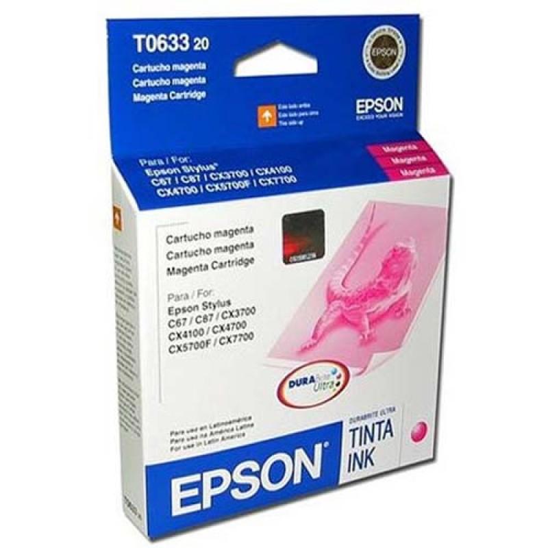 CARTUCHOS EPSON 63 MAGENTA C/67-87 CX3700-4100-4700