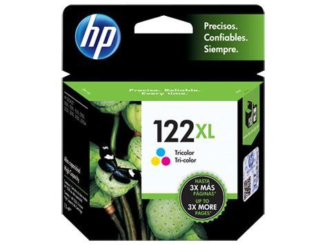 CARTUCHOS HP 122XL COLOR X UNIDAD