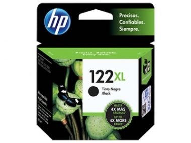 CARTUCHOS HP 122XL NEGRO X UNIDAD