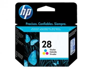 CARTUCHOS HP 28 TRICOLOR - DJ3320/3420 X UNIDAD