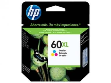 CARTUCHOS HP 60XL COLOR X UNIDAD