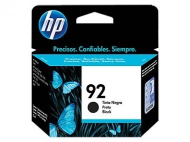 CARTUCHOS HP 92 NEGRO X UNIDAD