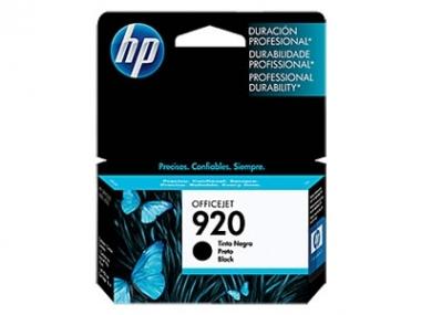CARTUCHOS HP 920 NEGRO X UNIDAD