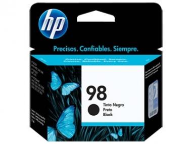 CARTUCHOS HP 98 NEGRO X UNIDAD