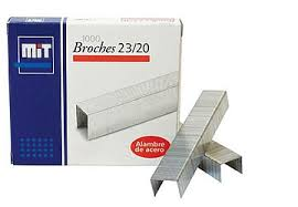 BROCHES MIT 23/20 X 1000 UNIDADES