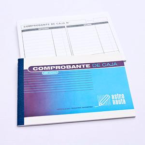 TALONARIO COMPROBANTE CAJA ENT Y SAL 40HJS 21 X 14CM X UNIDAD